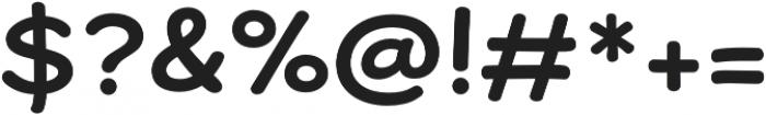 Dear Sans Bold otf (700) Font OTHER CHARS