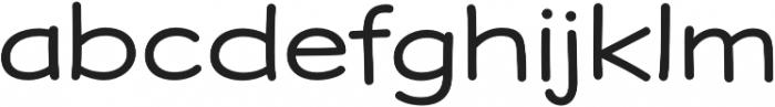 Dear Sans Expanded Book otf (400) Font LOWERCASE
