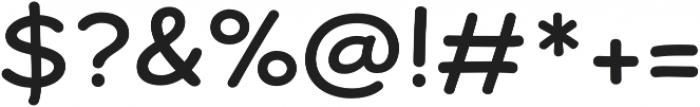 Dear Sans Regular otf (400) Font OTHER CHARS