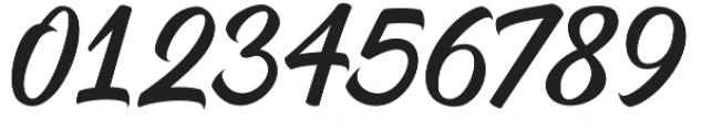 Dear Saturday otf (400) Font OTHER CHARS