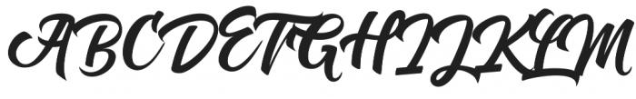 Dear Saturday otf (400) Font UPPERCASE