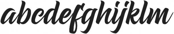 Dear Saturday otf (400) Font LOWERCASE