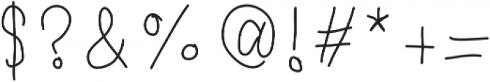 DearDiary ttf (400) Font OTHER CHARS