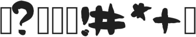 DearTheo ttf (400) Font OTHER CHARS