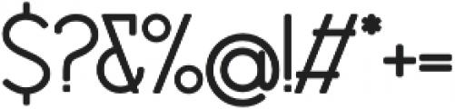 Debock Sans otf (700) Font OTHER CHARS