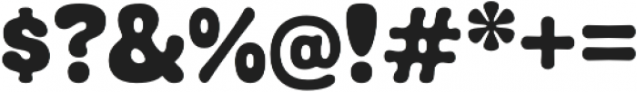 Debusen Regular otf (400) Font OTHER CHARS