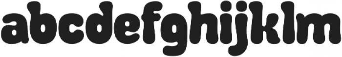 Debusen Regular otf (400) Font LOWERCASE