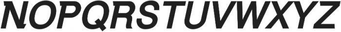 Debut Bold Italic ttf (700) Font UPPERCASE