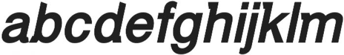 Debut Bold Italic ttf (700) Font LOWERCASE