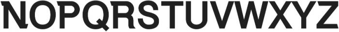 Debut Bold ttf (700) Font UPPERCASE