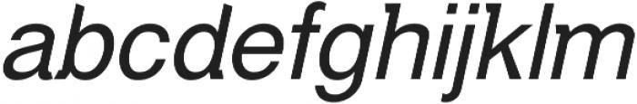Debut Italic ttf (400) Font LOWERCASE