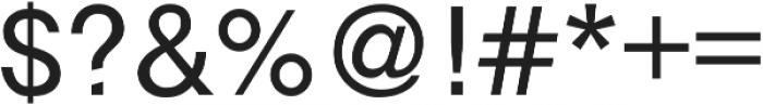 Debut Regular ttf (400) Font OTHER CHARS