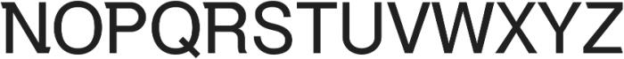 Debut Regular ttf (400) Font UPPERCASE