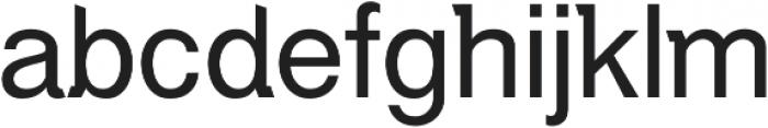 Debut Regular ttf (400) Font LOWERCASE