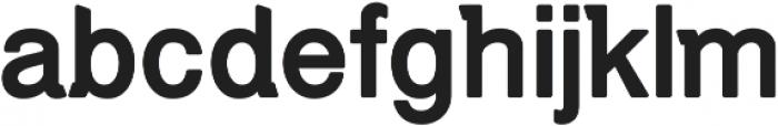 Debut Rounded Regular ttf (400) Font LOWERCASE