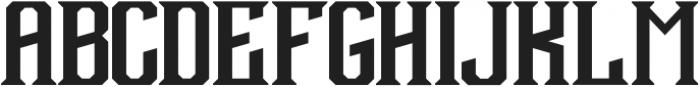 Debute Regular otf (400) Font UPPERCASE