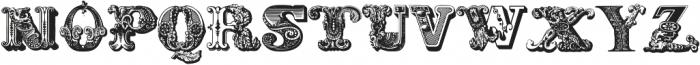 Decadence avec Elegance ttf (400) Font LOWERCASE