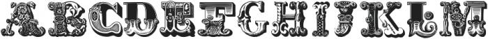 Decadence avec EleganceTwo ttf (400) Font LOWERCASE