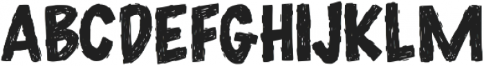 DecafPlease ttf (400) Font UPPERCASE