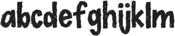 DecafPlease ttf (400) Font LOWERCASE