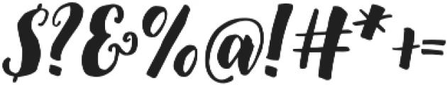December Sparks otf (400) Font OTHER CHARS