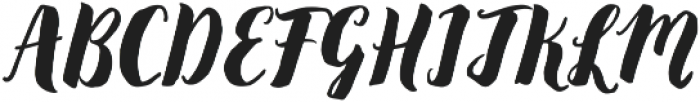 December Sparks otf (400) Font UPPERCASE