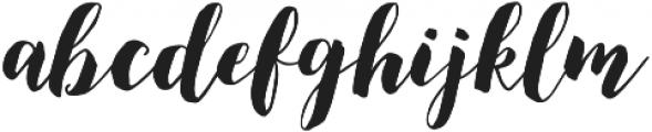 December Sparks otf (400) Font LOWERCASE