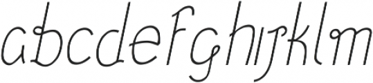 December ttf (300) Font LOWERCASE