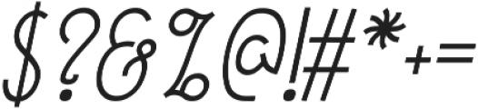 December ttf (400) Font OTHER CHARS