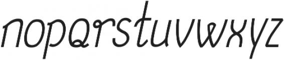 December ttf (400) Font LOWERCASE