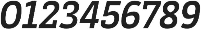 Decour Black Italic otf (900) Font OTHER CHARS