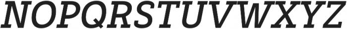 Decour Bold Italic otf (700) Font UPPERCASE
