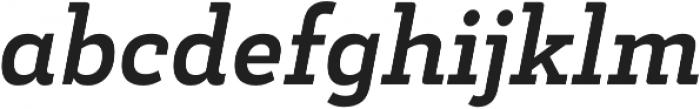 Decour Bold Italic otf (700) Font LOWERCASE
