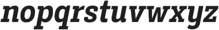 Decour Cnd Bold Italic otf (700) Font LOWERCASE