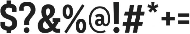 Decour Cnd Bold otf (700) Font OTHER CHARS