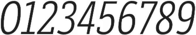 Decour Cnd Light Italic otf (300) Font OTHER CHARS