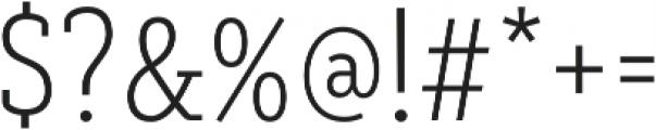 Decour Cnd Ultralight otf (300) Font OTHER CHARS
