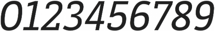 Decour Semibold Italic otf (600) Font OTHER CHARS