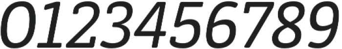 Decour Soft Semibold Italic otf (600) Font OTHER CHARS