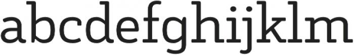 Decour Soft otf (400) Font LOWERCASE