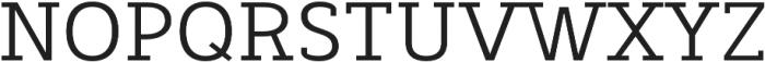 Decour otf (400) Font UPPERCASE