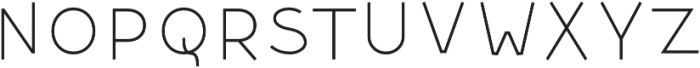 Dectura Inline otf (800) Font LOWERCASE