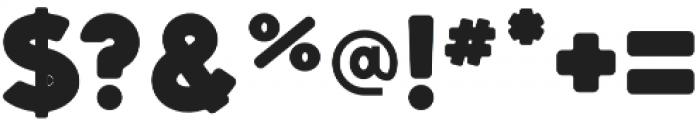 Dectura Round otf (800) Font OTHER CHARS