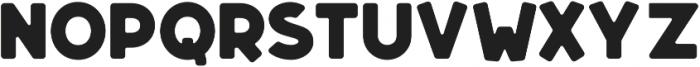 Dectura Round otf (800) Font UPPERCASE