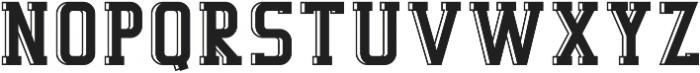 Decurion 3D otf (400) Font UPPERCASE