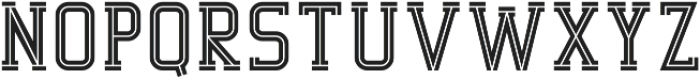 Decurion Inline otf (400) Font UPPERCASE