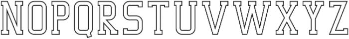 Decurion Line otf (400) Font UPPERCASE