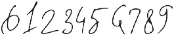 Deelishes otf (400) Font OTHER CHARS