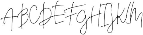 Deelishes otf (400) Font UPPERCASE