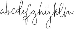 Deelishes otf (400) Font LOWERCASE